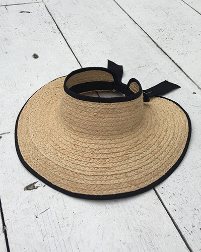 ribbon banding sun hat