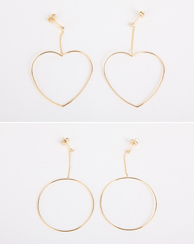 simple long earing