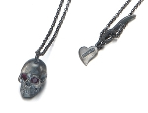 THEORO™ Handmade Cubic Eyes Skull Necklace